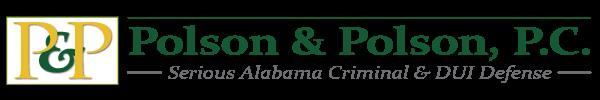 Polson and Polson- Serious Alabama Criminal and DUI Defense logo