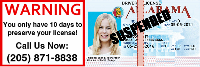 Mountain Brook Alabama Drunk Driving Lose License
