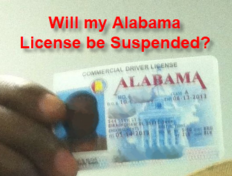 AL DUI Felony License Suspension