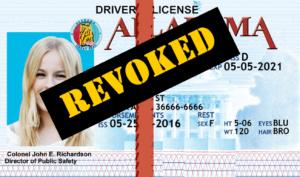 AL License Revoked DUI