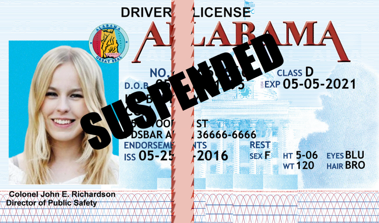 Alabama DUI License Suspension